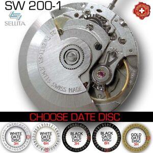 MOVEMENT-AUTOMATIC-SELLITA-SW200-1-STANDARD-COMPATIBLE-ETA-2824-NEW