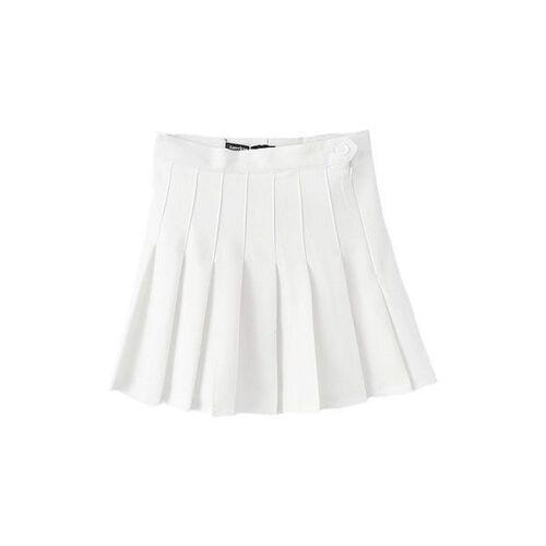 High Waisted Pleated Tennis Mini Skirts