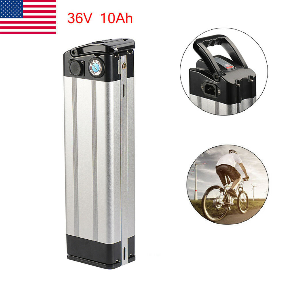 X-go 36V 10AH Lithium Li-ion Battery fr E-bike Electric Bicycle Top Discharge