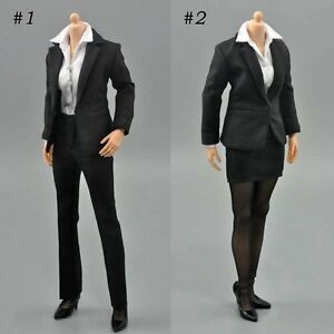 ZY-Toys-1-6-Office-Lady-Shirt-Suit-Pants-Skirt-Set-For-12-039-039-Female-Figure-Body