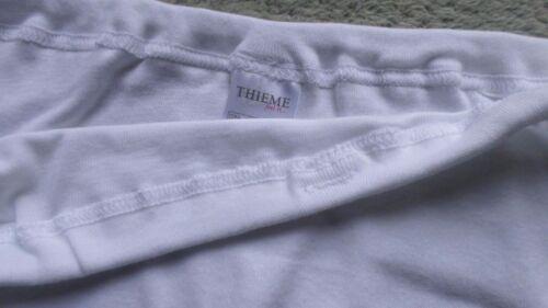 6er set señora Slip damenschlüpfer Thieme algodón blanco talla 46 nuevo 11-4