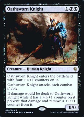 MTG Magic - NM//M Throne of Eldraine Oathsworn Knight Prerelease FOIL R