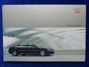 Audi-A8-L-6-0-12-Zylinder-W12-quattro-MJ-2004-Hardcover-Prospekt-12-2003