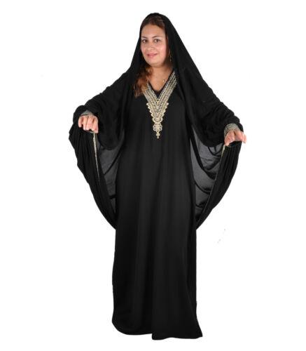 De Style Avec De Soirᄄᆭe Un Voile Islamique Abaya NoirAby00334 En Robe Dubai CBoeWdxr