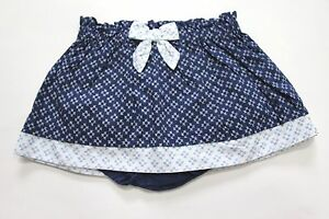 Clothing, Shoes & Accessories Gymboree Girls Geo Floral Bow Cotton Skirt Blue Diaper Cover 6/12m 18/24m Skirts