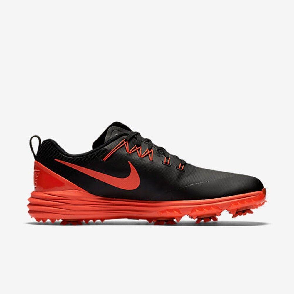 NEW Nike Lunar Command 2 Men's Golf Shoe 849968-001 Black Max Orange Sz 9.5 Cheap and beautiful fashion