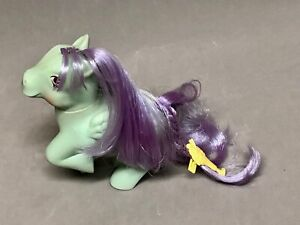 1987-My-Little-Pony-Sundae-Best-PEPPERMINT-CRUNCH-Ice-Cream-Cone-with-Barrette