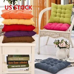 Details about COLOURFUL SEAT PAD DINING ROOM GARDEN KITCHEN CHAIR CUSHIONS  WITH TIE ON US SALE