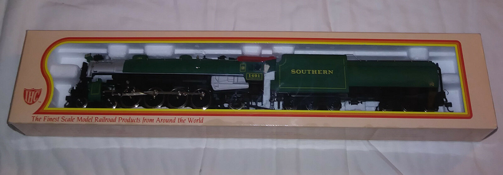 Collectible IHC M626 HO Scale Mountain Southern Steam Locomotive 1491 NIB