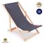 miniatura 10 - Silla tumbona tumbona de playa tumbona para tomar el sol tumbona de jardín tumbona de madera plegable tumbona relax