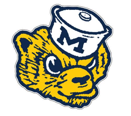 Michigan Wolverines NCAA Football //Vinyl Sticker //Decal for car window laptop