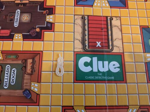 Tokens $1 shipping 1986 Clue Board Game Replacement Parts and Pieces Cards
