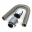 24-034-Stainless-Steel-Chrome-Radiator-Flexible-Coolant-Water-Hose-Kit-With-Caps miniature 12