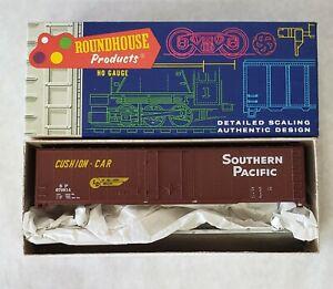 Roundhouse-1206-HO-Scale-Santa-Fe-ATSF-19620-Large-Door-Box-Train-Car
