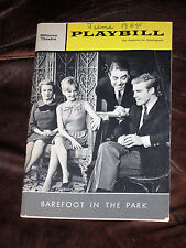 "Robert Redford Signed ""BAREFOOT IN THE PARK"" 1964 Playbill PSA/DNA full LOA"