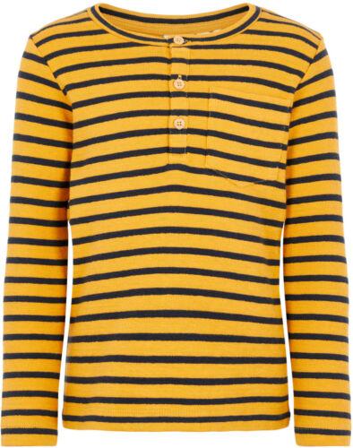 Name it Jungen Langarmshirt Gr.92-128 NMMVALE Basic Shirt gestreift Baumwolle
