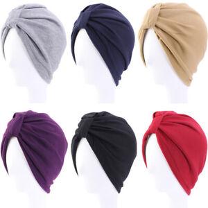 India Muslim Women Turban Hat Beanie Hijab Cancer Chemo Cap Headscarf Wrap Cover