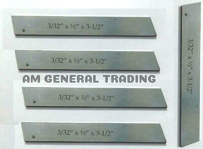 """Lathe Cut off Parting Tool with HSS Blade 1//16/"""" x 5//16/"""" x 3.1//2/"""" with Wrench New"""