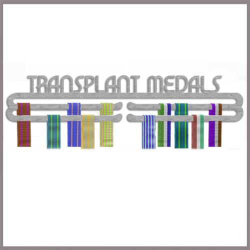 MEDAGLIA Hanger Display medaglie del trapianto ACCIAIO INOX