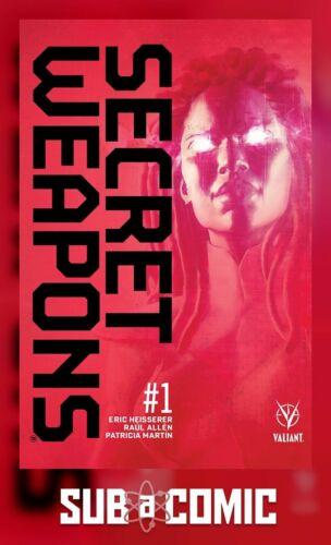 VALIANT 2017 3rd Print COMIC SECRET WEAPONS #1 3RD PTG