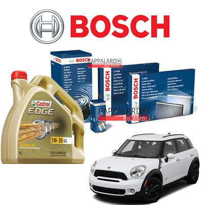 Filtro Servizio Kit Per Mini R60 COUNTRYMAN 1.6 10 /> 16 DIESEL olio aria BOSCH