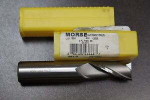 Morse-EDP-43666-List-1898-3-4-2-Flute-3-4-Shank-Single-End-cutting-tool