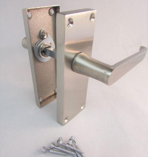 NEW Satin Classic Victorian STRAIGHT Lever Latch Door Handles MODERN D1