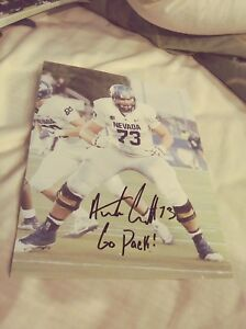 separation shoes 35fe0 64256 Details about Austin Corbett Nevada Wolfpack signed 8x10 Photo NFL  Cleveland Browns