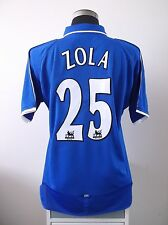 Gianfranco ZOLA #25 Chelsea Home Football Shirt Jersey 2001-2003 (L)