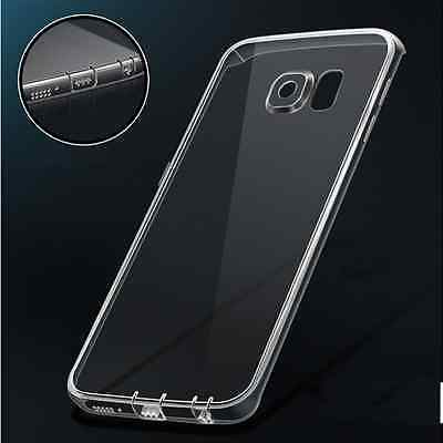 Ultra Thin Clear Crystal Rubber TPU Soft Case Cover For Samsung Galaxy S7 Edge