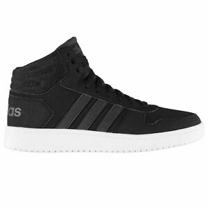 adidas-Mens-Hoops-Mid-Nbk-High-Top-Trainers-Lace-Up-Sports-Shoes