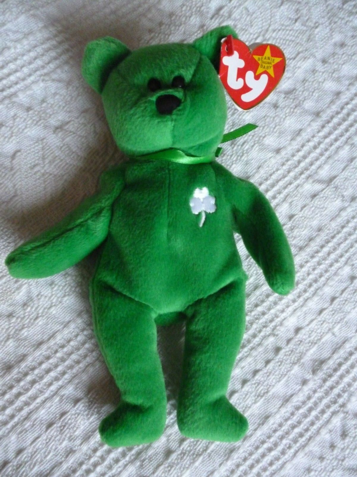 Rare Ty Original Beanie Baby Erin 1997 with tag