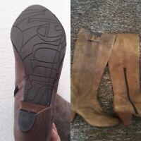 New Feet air, New feet sort skindstøvle Dame Støvler,New