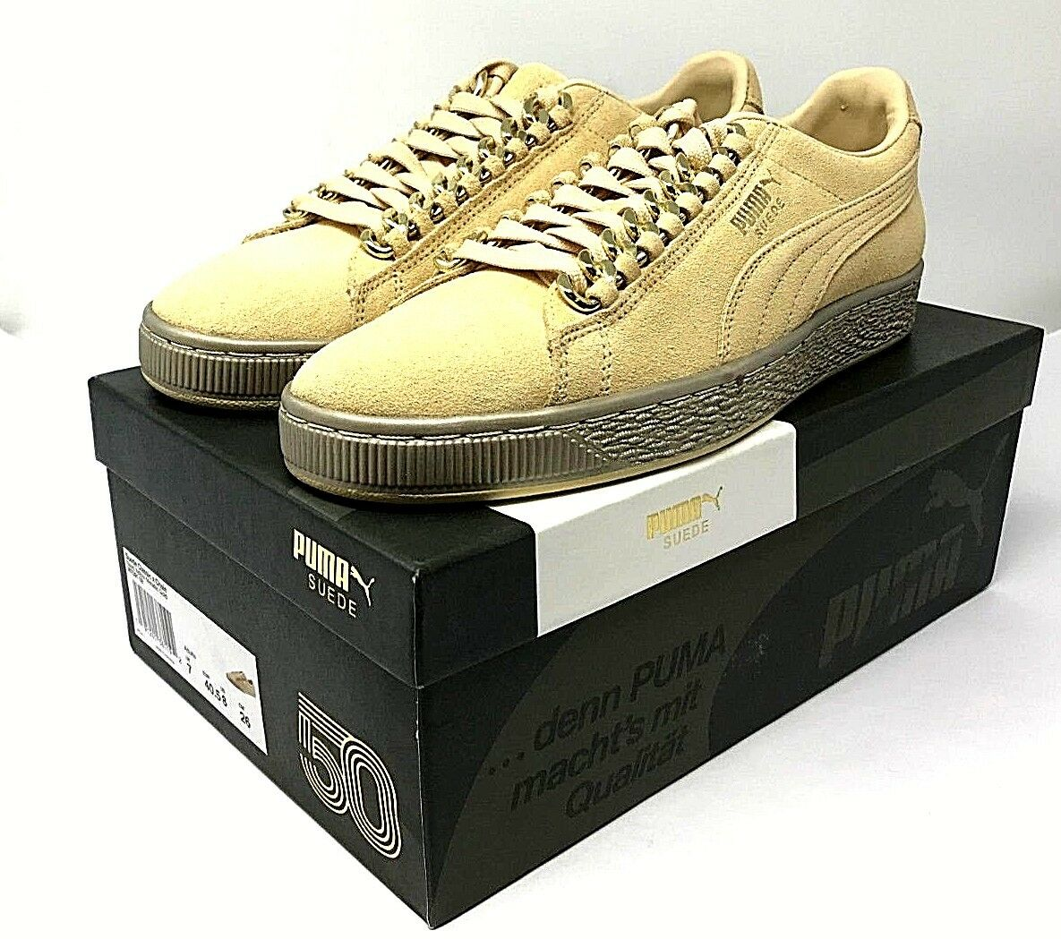 Puma Classic X Chain Mens 50 Anniversary Lace Up Sneakers shoes Choose Size NEW