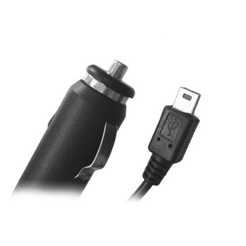 G05 coche cargador coche Adaptador de alimentación mini USB 5pin conector para GPS mp3