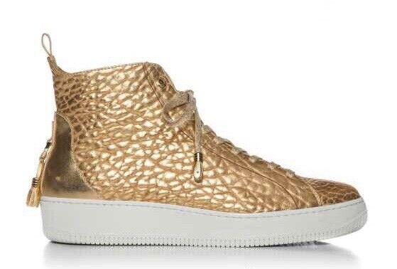 Alfa High Cut Men schuhe - ANDROID HOMME High Top Gold Stiefel Größe 13 USA 46 EUR