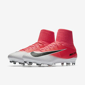 pretty nice f4c0a 3b4d0 Details about NIKE MERCURIAL SUPERFLY V DF FG PINK/BLACK/WHITE MEN SIZE 10  NEW 831940 601