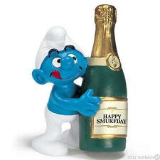 *NEW* SCHLEICH 20708 Favourites BOTTLE SMURF- RARE Favorites Smurfette Smurfs