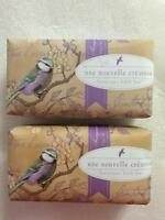 2 Pack Cst Commonwealth Lavender Hummingbird Glitter Luxurious Bar Scented Soap