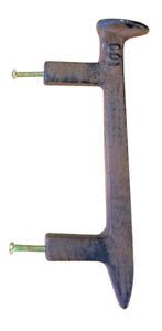 Doors & Door Hardware 1 Cast Iron Railroad Spike 8 Door Handle Pull Heavy Rustic Home Decor Primitive