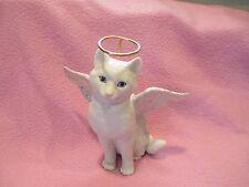 Lenox White Porcelain Cat -Face of An Angel - Excellent!!