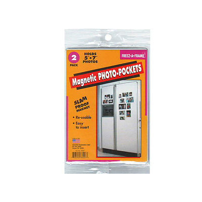4x6 /& 5x7 6 Pack Flexible Magnetic Photo Pocket Combo Same Shipping Any Qty