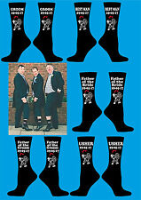 Personalised socks your text  gift Birthday FUNNY PARTY groom/boyfriend/wedding