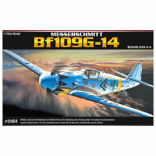 Academy 1/72 Messerschmitt Bf109g Plastic Model Kit 12454
