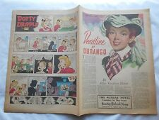 -DEADLINE AT DURANGO-THE SUNDAY NOVEL-PATRIOT-NEWS-HBG,PA-MAY 21,1950
