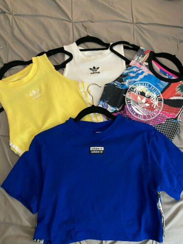 4 Limited Edition Adidas Crop Tops WOMENS XS