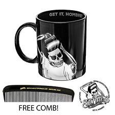 Suavecito Mascot Hombre Black Coffee Mug 11 oz.