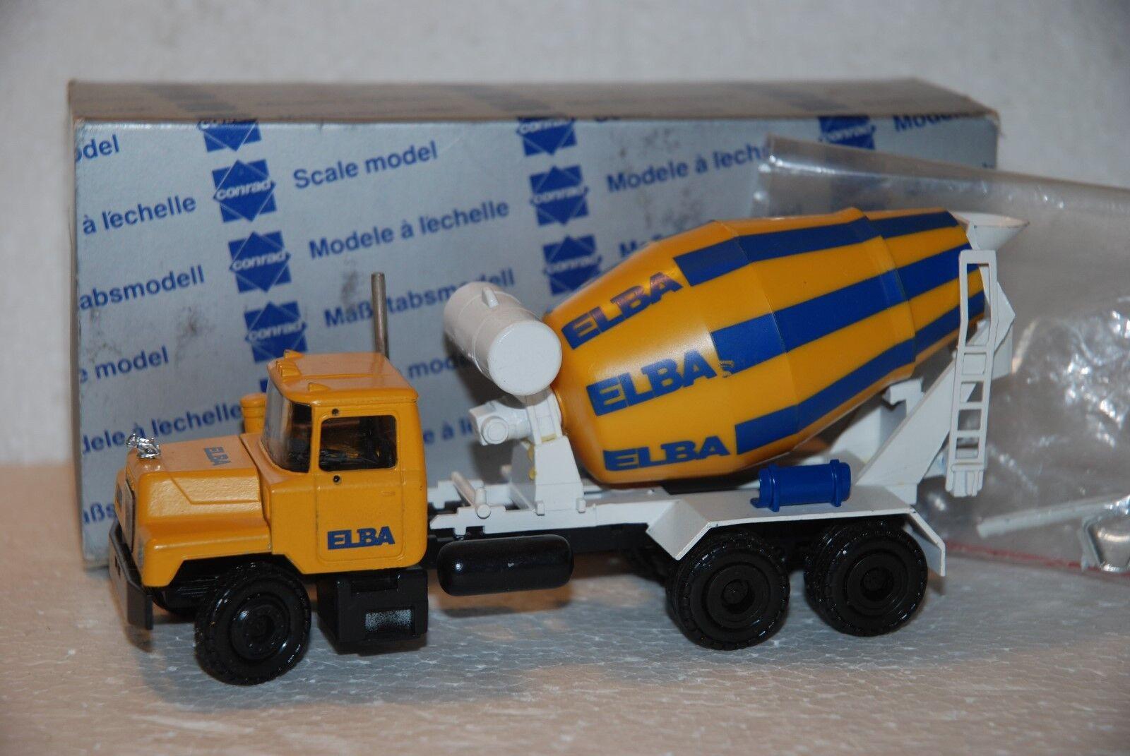 Joyeuses fêtes  Meilleure offre! 1/50 Conrad Camion Camion Camion Betoniera MACK  3 assi | Fabrication Habile  935cf1