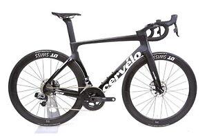 2019-Cervelo-S5-Carbon-Fiber-Road-Bike-SRAM-eTap-Disc-DT-Swiss-ARC-1450-56cm-NEW