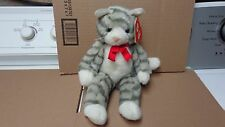 TY VINTAGE PLUSH (MITTENS THE CAT STYLE #1118 WITH TAG 1992) VERY HARD TO FIND